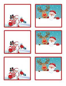 Santa s little gift to you free printable gift tags and labels
