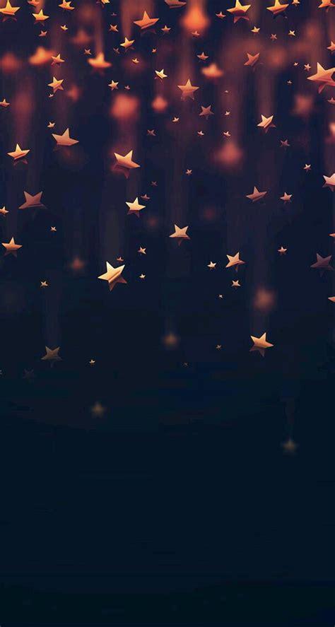 fondo de estrellas doradas  personas alegresamables