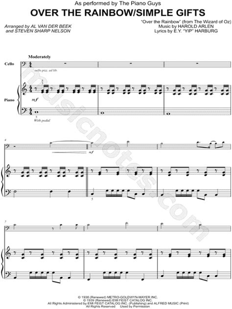tutorial piano over the rainbow piano sheet music somewhere over the rainbow over the