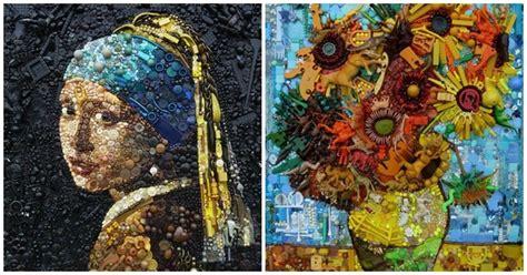 cuadros curiosos 11 obras de arte impresionantes hechas con material