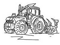 Kolorowanki Traktor