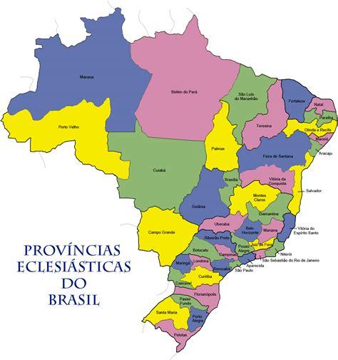 Brésil File Provincias Eclesiasticas Do Brasil Jpg