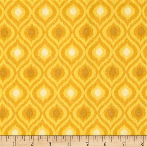 yellow ikat pattern ikat tonal golden yellow discount designer fabric