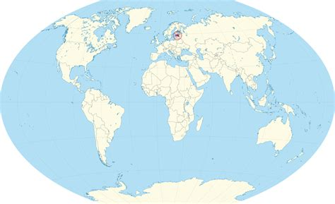 estonia on world map where is estonia located