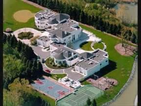 Backyard Basketball Court Price Michael Jordan S House In Chicago Youtube