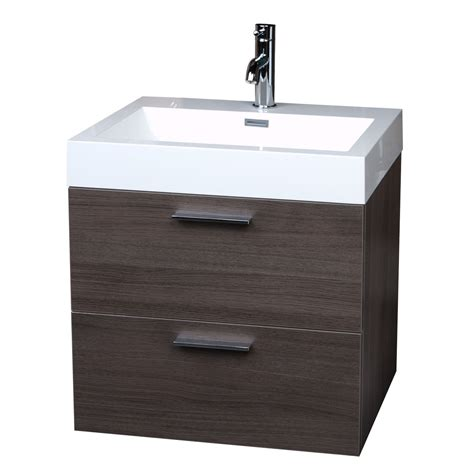 grey bathroom set european styled single bathroom vanity set in grey oak free shipping tn t580 go