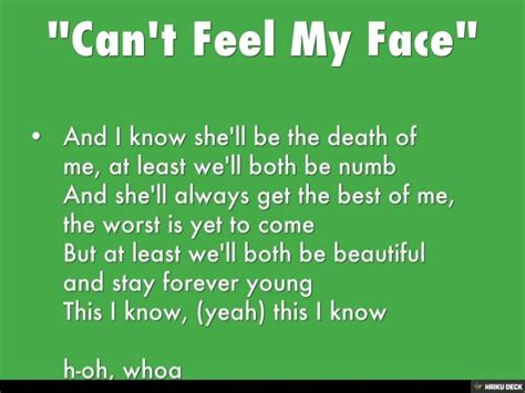 download mp3 song can t feel my face quot can t feel my face quot the weeknd lyrics song