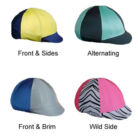 design your own jockey helmet cover jockey style helmet covers in large selection of colors