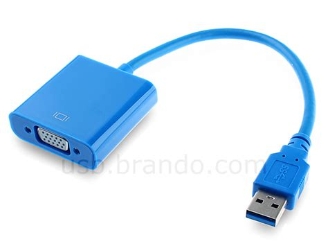 Connector Usb To Vga Usb 3 0 To Vga Adapter Cable