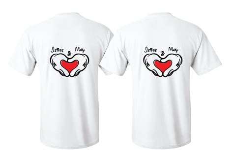 Matching Baseball Tees Mickey Minnie Mouse In Shape With Custom Names
