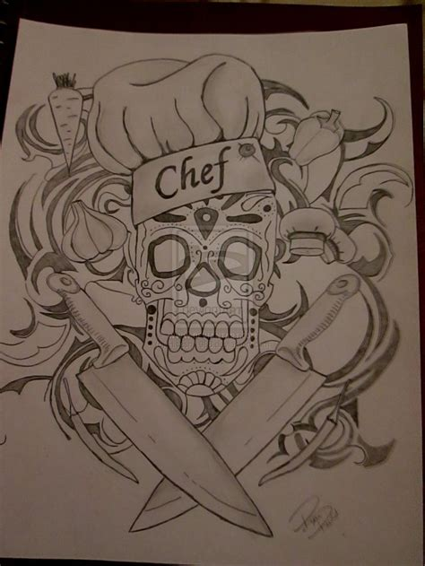 tattoo chef cartoon collection of 25 cartoon cook tattoo