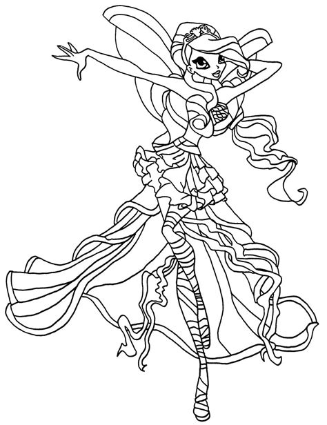 winx mermaids coloring pages winx coloring pages to download and print for free