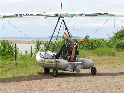 inflatable boat ultralight aircraft flying inflatable boat hibious polaris motor