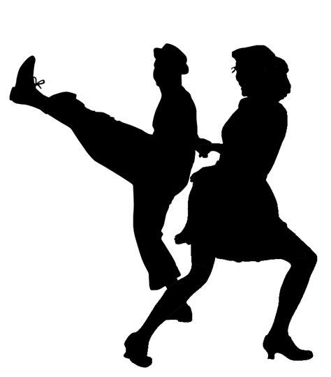 swing dance silhouette ballroom dancing silhouette png www imgkid com the