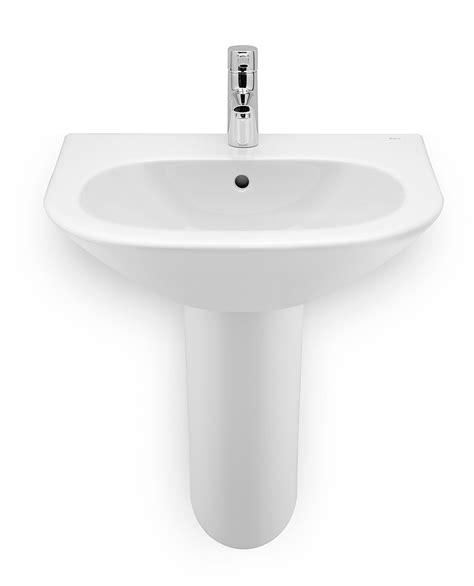 roca bathroom sinks roca nexo wall mounted basin 550 x 440mm 327642000