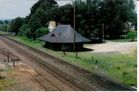 east brookfield ma station the nerail new railroad photo archive