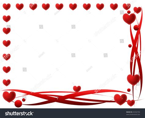 valentines picture frames valentines frame stock photo 45332794