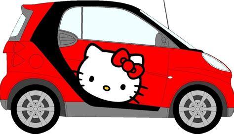 Aufkleber Fürs Auto Hello Kitty by Hello Kitty Auto Aufkleber Mini Smart Auto Aufkleber Ebay