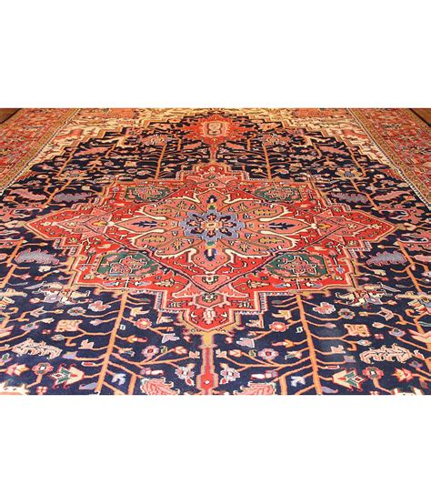 rug international one of a collection design heriz 199797 navy hri rugs harounian rugs