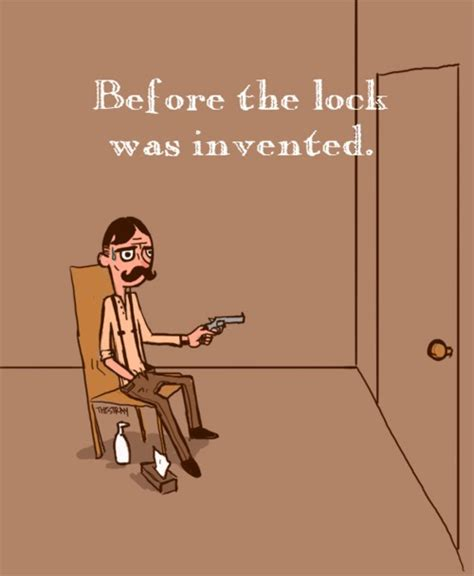Who Invented The Door Lock by Showing Friends Back In 1999
