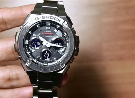 Jam Tangan Pria Casio G Shock Gst 210b 4adr Original casio g shock g steel gst s110d 1a indowatch co id