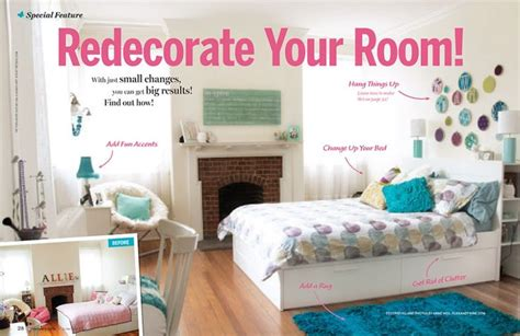How To Redecorate Your Room | inside this month s issue great ideas from discovery
