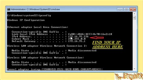 Local Ip Address Finder How To Find My System Local Global Ip Address Using Command Prompt Fast