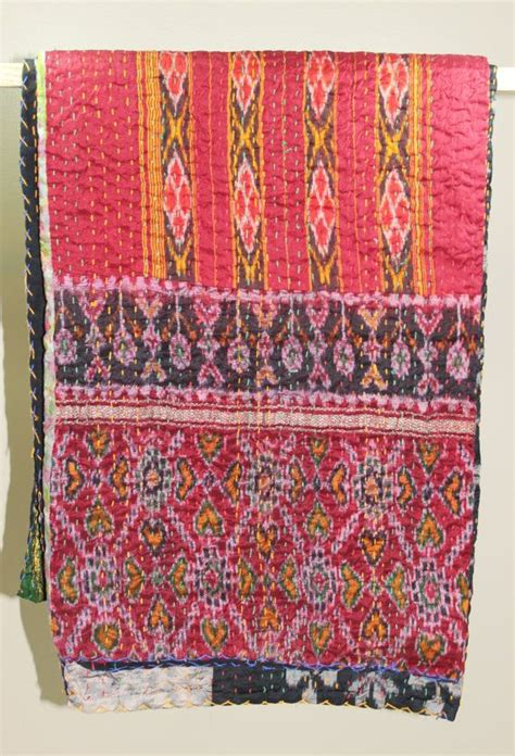 Kantha Quilt How To Make by 25 Best Ideas About Kantha Quilt On Kantha