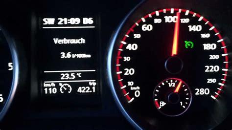 Golf 1 6 Auto Fuel Consumption by Vw Golf 6 Gtd Dsg Fuel Consumption Verbrauch Doovi