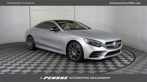 mercedes s class coupe 2019 2019 new mercedes s class s 560 4matic coupe for sale