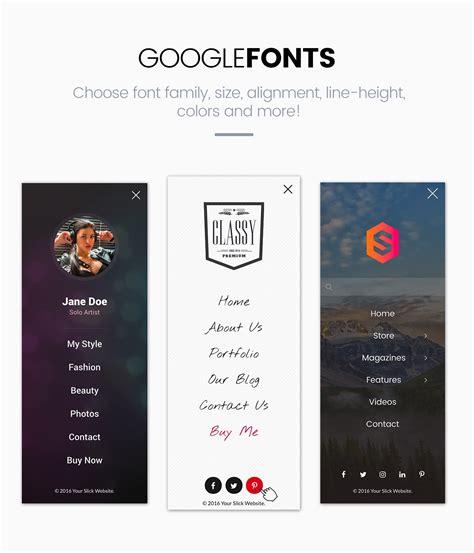 wordpress themes free vertical menu slick menu responsive wordpress vertical menu