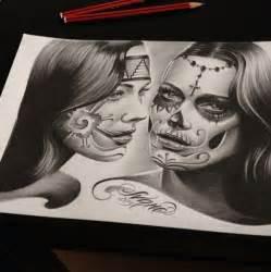 chicano drawing