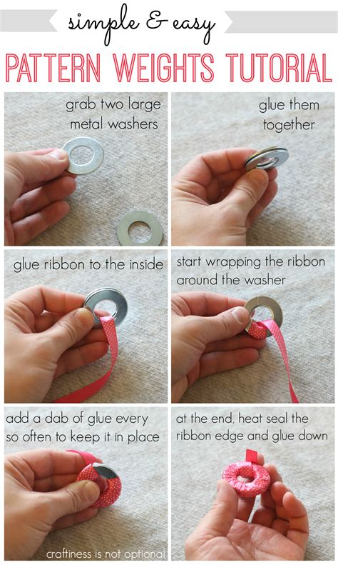 pattern weights for sewing simple easy pattern weights