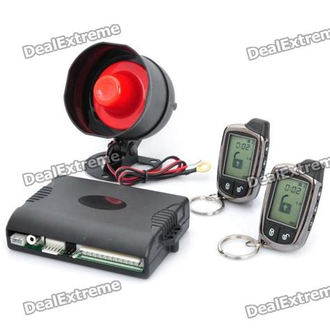 Alarm Two Way Mp hs 100 2 way car alarm system dc 12v free shipping dealextreme
