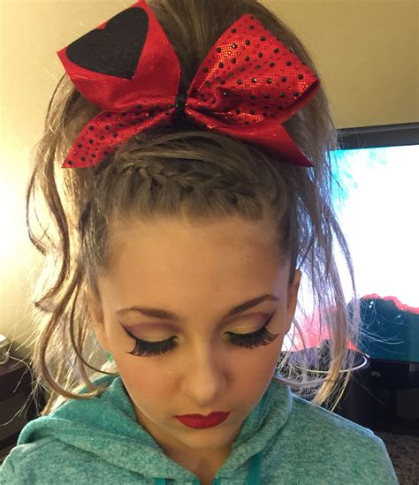 school cheer hairstyles cheer hair and makeup cheer bug