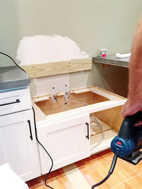 how to install a farmhouse sink in existing cabinets how to install a farmhouse sink in existing cabinets zef jam