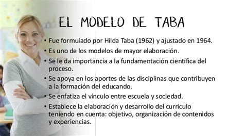 Ventajas Y Desventajas Modelo Curricular De Hilda Taba Modelos Curriculares