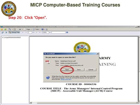 Army Learning Management System Help Desk by Ppt Managers Program Micp Computer