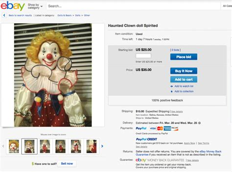 i bought a haunted doll this is what happened when i bought a haunted doll ebay