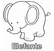 Dibujos Para Imprimir Y Colorear Elefante