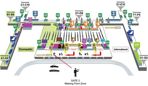 airport floor plan bangkok international suvarnabhumi airport terminal html