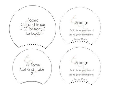 mickey ear template mickey mouse ears printable template pictures to pin on