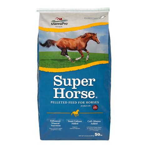 Super horse premium feed for equine manna pro products llc