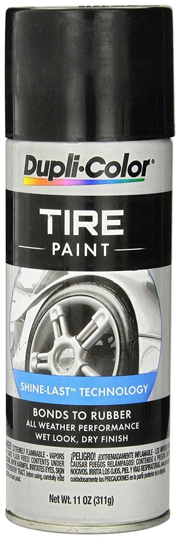 dupli color tire shine dupli color black tire paint 11 oz duptp101