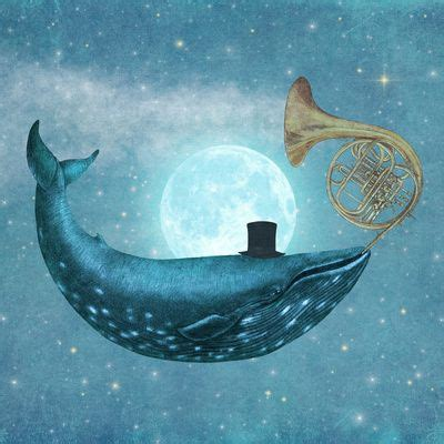 terry fan the whale art print cloud maker art print posts terry fan and terry o quinn