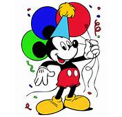 Mickey Mouse Birthday – Free Disney Vector  Tuts King