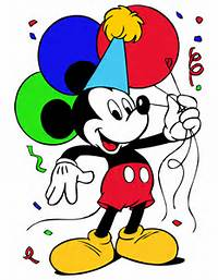 Mickey Mouse Birthday Clipart Birthdayjpg
