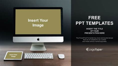 Home Design App For Laptop monitor and tablet mockup powerpoint templates