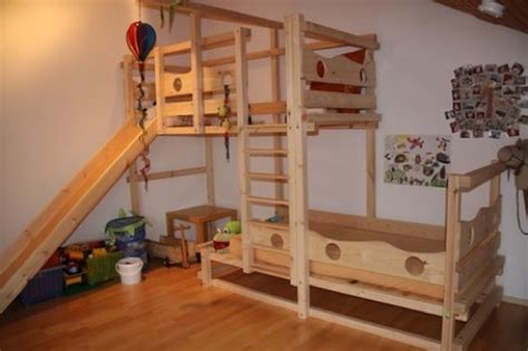 kinderbett unten schlafen oben spielen hochbett mit 3 seite 2