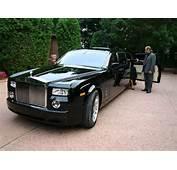 Rolls Royce Phantom Black Tie Edition Gennadi Chauffeur